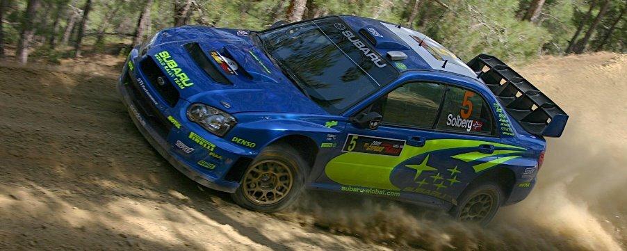 Subaru Rally Cars USA and Canada